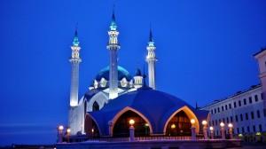 4 Kazan Mosquée nuit