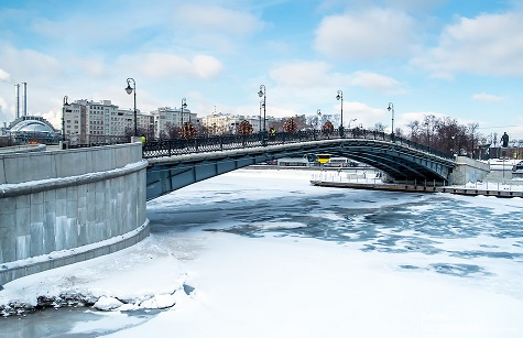 Bridge over Moskva River